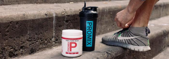 ProMix Raspberry Lemonade Free Form BCAA Powder