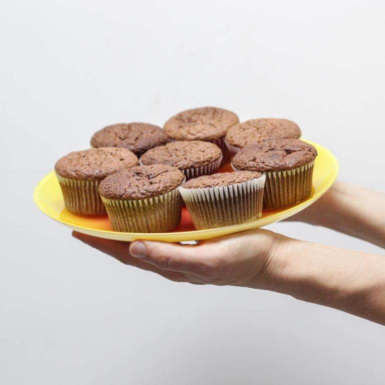 Gluten-Free Chocolate Collagen Protein Muffins