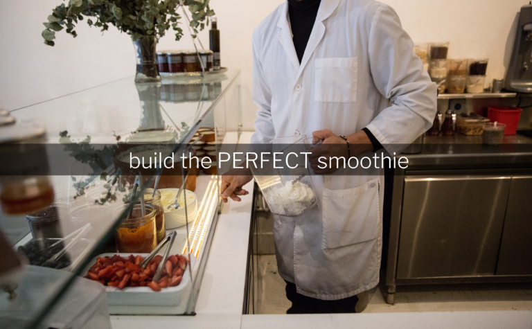 Build the Perfect Smoothie