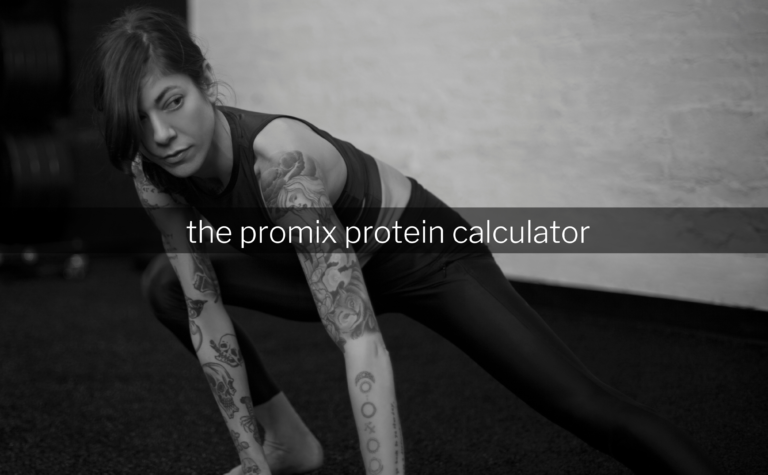 Promix Protein Calculator