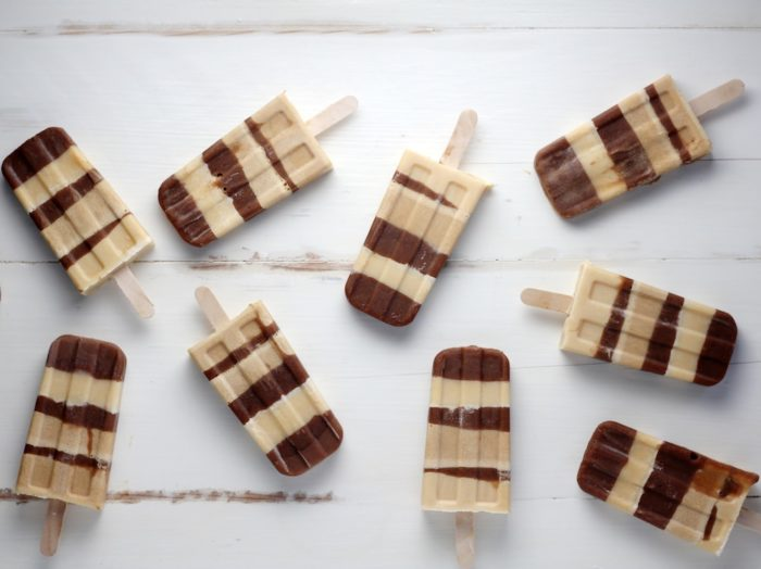 Chocolate Protein Fudge Pops